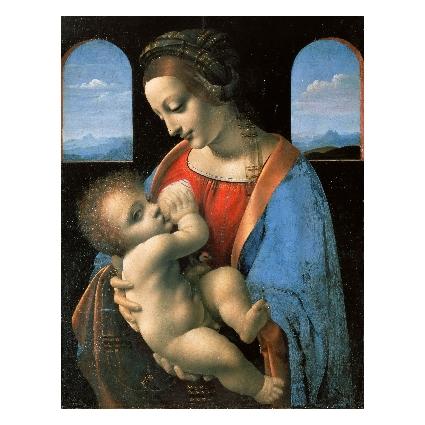 Леонардо да Винчи. Принт на картон #371