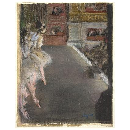 Едгар Дега. Принт на картон #386