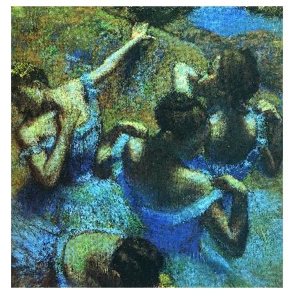 Едгар Дега. Принт на картон #388
