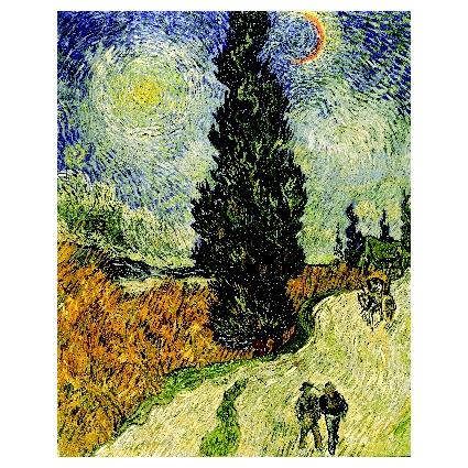Винсент Ван Гог. Принт на картон #391