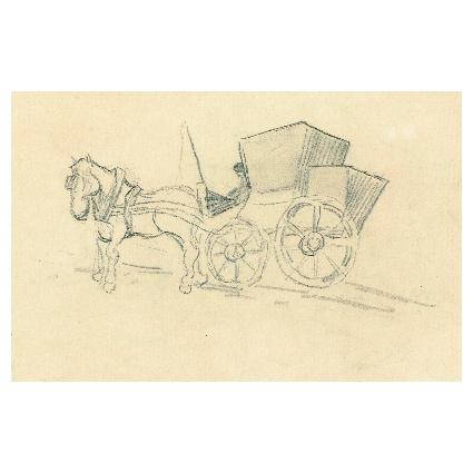 Винсент Ван Гог. Принт на картон #396