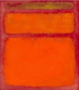 Марк Ротко, Оранжево, червено, жълто, 1961, $86.7 мил