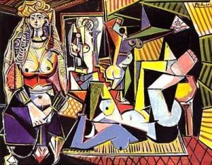 Пабло Пикасо, Алжирски жени, $179.3 мил. Картини цени.