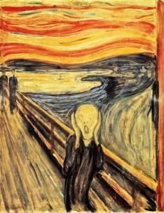 Едвард Мунк, Писък (4-та картина от серия), 1893—1910, $119.9 мил .Картини цени.