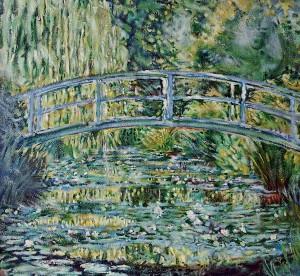 Клод Моне, Езеро с лилиите, 1919, $80.5 мил
