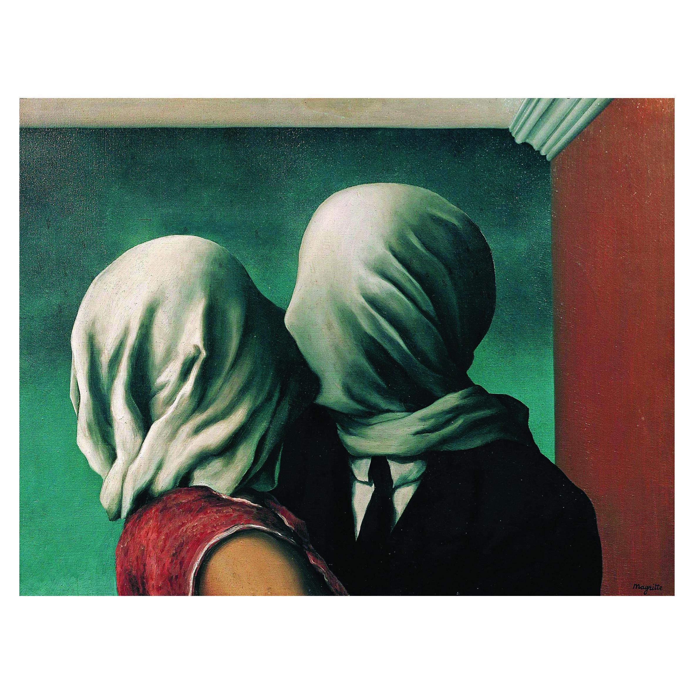 Рене Магрит. Принт на картон #437